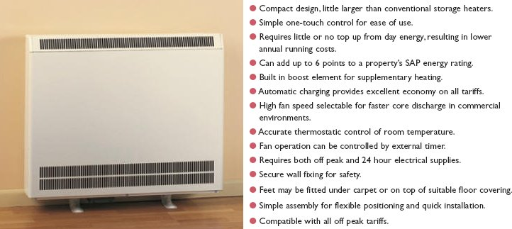 On some storage radiators (such as the Dimplex FXL model - left) a fully automatic charge system ensures just the right amount of heat is stored whatever ...  sc 1 st  The 50plus & Modern Central Heating